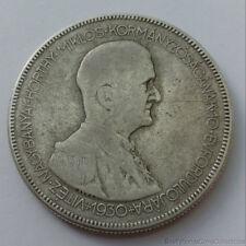 1930 Hungary 5 Pengo .640 Silver Coin