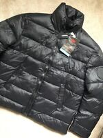 "DIESEL MEN'S BLACK ""W-SMITH"" 3M THINSULATE PADDED JACKET COAT - XL - NEW & TAGS"