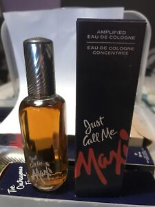 Just call Me Maxi Cologne Splash VINTAGE Made In England Max Factor 100 ml