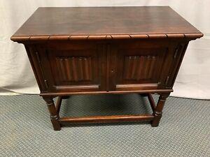 Antique Vintage Carved Walnut Server Side Table Robert Keith