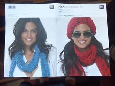 Knitting Pattern Booklet: Rico, 9 Womens' Patterns in Big Cotton Super Chunky
