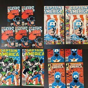 Captain America 323 333 312 354 John Walker lot  Falcon & Winter Soldier