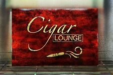 Airbrushed Cigar Lounge sign - 12