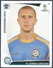 PANINI UEFA CHAMPIONS LEAGUE 2009-10- #469-UNIREA URZICENI-EPAMINONDA NICU