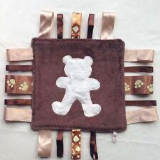 BLANKIE tag COMFORT BLANKET comforter LABELS 30cm SUPER SOFT **NEW**