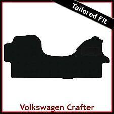 Volkswagen VW Crafter Mk1 2006 - 2015 Tailored Fitted Carpet Car Mat BLACK