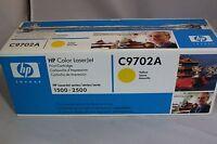 C9702A HP YELLOW Toner Cartridge OEM Genuine LaserJet 1500 2500 - FREE SHIPPING