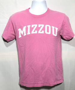 Mizzou Tigers T Shirt Pink Size Small