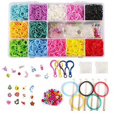 Diy Loom Refill Kit Crafting Gadgets Friendship Bracelet -5500 Rubber Rainbow