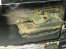 Forces of Valor 85401 1/72 WWII German King Tiger Holland 1944 Diecast Tank MIB