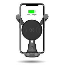 BESTHING 10W Wireless Charger, Wireless Fast Car Mount, Air Vent Phone Holder