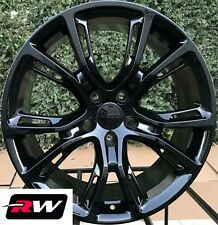 "Jeep Grand Cherokee SRT8 OE Replica Wheels 20"" inch Gloss Black Staggered Rims"