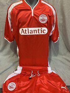 Aberdeen Home Shirt And Shorts 2000/01 Medium Original Rare And Vintage