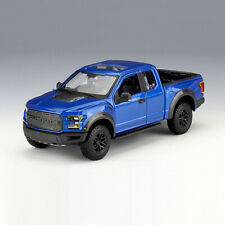 Maisto 1:24 Blue 2017 F-150 Raptor Pickup Truck Diecast Alloy Car Model Toys New