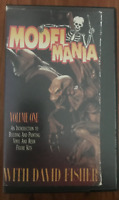 MODEL MANIA VOL 1 BUILDING FIGURES DAVID FISHER RARE NTSC VIDEO FOR USA PLAYERS