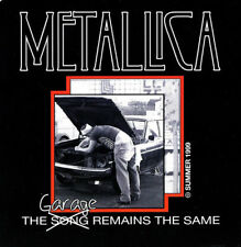 METALLICA LIMITED EDITION THE GARAGE REMAINS THE SAME EP 2000 METCLUB CD