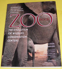 Zoo Book –The Evolution of Wildlife Conservation Centers 1994 First Edition See!