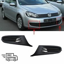 FOR VOLKSWAGEN GOLF VI 6 MK6 09-13 FRONT BUMPER LOWER GRILL TRIM FOG COVER PAIR