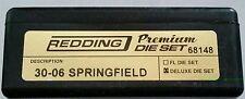 68148 REDDING 3-DIE PREMIUM DELUXE BOTTLE NECK SET  30-06 SPRINGFIELD  BRAND NEW