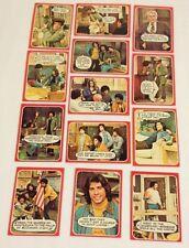 Welcome Back Kotter Trading Cards Lot (13) Topp's 1976 excellent / John Travolta
