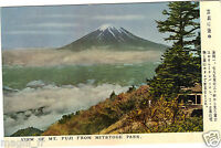 Japan - Cpsm - View Of Mt.Fuji From Mitstoge Passform (H7720)