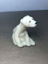 Second Nature Design Quarry Critters Paulie White Stone Polar Bear 2000 2.5