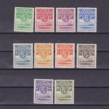 BASUTOLAND 1933, SG# 1-10, CV £325, MH/MNH