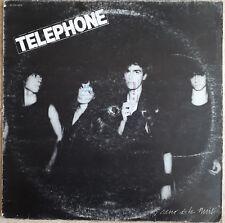 """33T TELEPHONE Vinyle LP 12"""" AU COEUR DE LA NUIT - ARGENT TROP CHER - EMI 72279"""