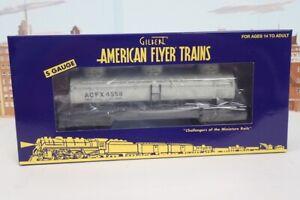 American Flyer S Gauge No.1919302 ACFX 3 Dome 4558 Tank Car NIB