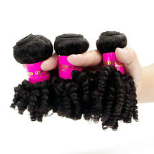 3Bundles Brazilian Afro Kinky Curly Human Hair 100% Virgin Hair Extension Weft