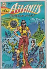 Atlantis Chronicles #1 March Dc Comic Book(1990)