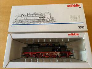 Märklin 3303 HO 3-Rail German DR Steam Loco Series 78 No.78 031 - DCC & Analogue