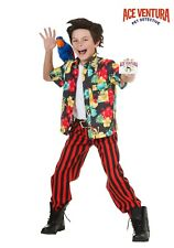 CHILD ACE VENTURA PET DETECTIVE COSTUME SIZE SMALL 6 (missing pants and belt)