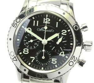 Breguet Aeronaval type XX 3800 Chronograph black Dial Automatic Men's_591016