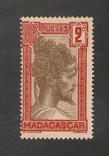 Madagascar (French) #148 (A10) FVF MINT - 1930 2c Sakalava Chief