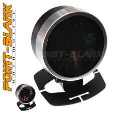 60mm Electronic 2 BAR Boost Gauge - White Backlit Defi/JDM Style