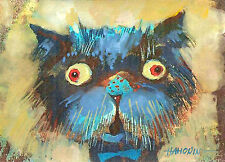 ACEO/ CAT / LE Print of Original Painting by Hahonin Artist Edition Size150