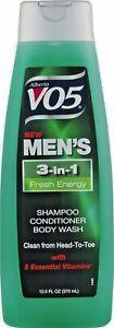 VO5 Men's 3 in 1 Shampoo Gift Set! 3 Pack