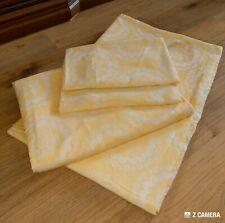 DDR Bettwäsche 🛌 4 Teile 🛌 gelb mit weiß 🛌VEB Planet 🛌 170 x 125 cm 🛌