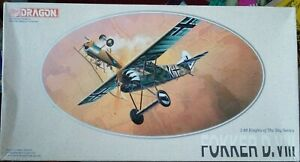 Dragon 1/48 Fokker D.VIII includes photoetch
