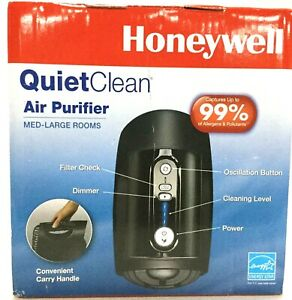 Honeywell QuietClean Air Purifier Tower, Dimmer, Portable Med-Large HFD230BV1