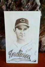 1951 Al Lopez signed autograph 6x4 Postcard Baseball Player