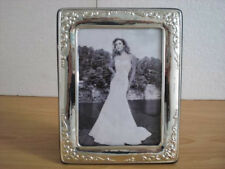 Wedding gift Handmade Sterling Silver Photo Picture Frame*1010/13×18 GBnew