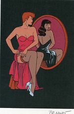 Ex-Libris Berthet - Pin Up - (SCS20L)