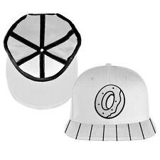 Odd Future Snapback Donut O Logo Hat White Brand New