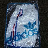 VTG 70s Adidas Trefoil Shorts NEW Nylon Made In France Boxing Olympics Medium