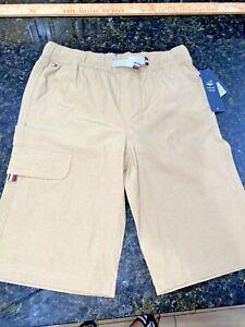 Tommy Hilfiger Boys  Chino Shorts Size 12/14 NWTS BRCN