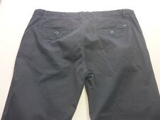 087 MENS NWOT INDUSTRIE RELAXED BLACK WASH STRETCH PANTS 38 REG $110 RRP.