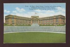 USA Texas EL PASO'S new? High School & Stadium c1916 PPC