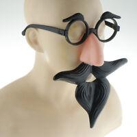 Halloween Mask Halloween Costume Props Mustache Nose Glasses Masks